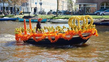 Den královny - Keukenhof, sýry a slavnosti v Amsterdamu