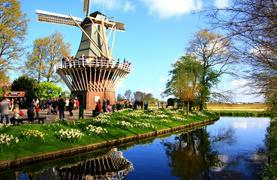 Holandsko s noclehem - Květinové korzo, Severní moře, sýry a Amsterdam - 3/27