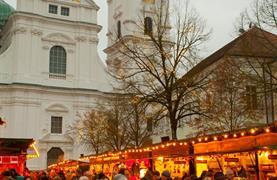 Adventní víkend v Bad Füssing se zastávkou na trzích v Pasově - záloha 500 Kč - 14/15