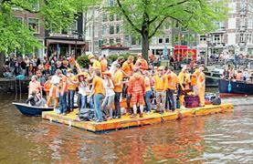 Okruh Holandskem na Den královny - Keukenhof, Amsterdam, sýry i Zaanse Schans - 8/31