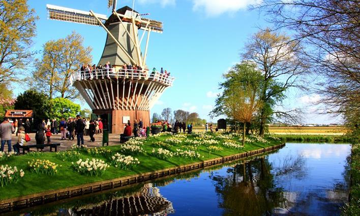 Okruh Holandskem na Den královny - Keukenhof, Amsterdam, sýry i Zaanse Schans