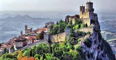 San Marino s pobytem na pláži