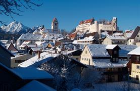 Zámek Neuschwanstein a malebný advent v Regensburgu - 6/11