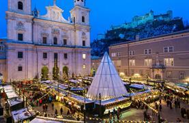 Rakouské Vánoce v Salzburgu a na zámku Hellbrunn - 1/19