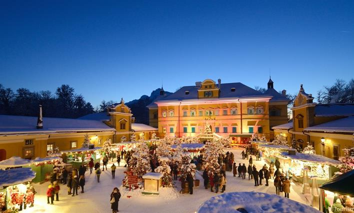 Rakouské Vánoce v Salzburgu a na zámku Hellbrunn