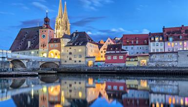 Bavorský advent v Norimberku a Regensburgu