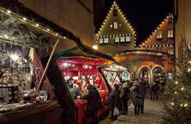Bavorské město Vánoc Rothenburg ob der Tauber - 6/15