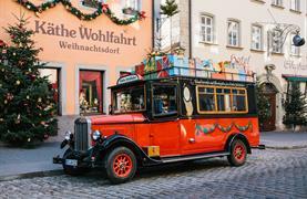 Bavorské město Vánoc Rothenburg ob der Tauber - 2/15