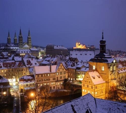 Sen v bílém - 4 bavorská historická městečka
