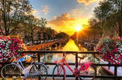 HOLANDSKO - Květinové korzo Keukenhof - Amsterdam