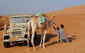 Tradice, duny a suk s živým dobytkem