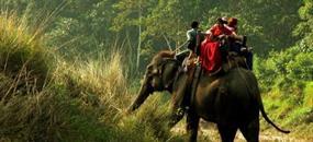 Královská cesta Nepálem se safari