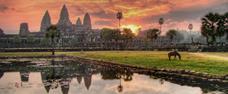 Tisíce let staré chrámy Angkoru v Kambodži s pobytem na ostrově Koh Chang