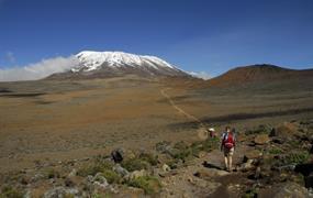 Výstup na Kilimandžáro - trasa Marangu
