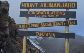 Výstup na Kilimandžáro - cesta Machame