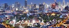 Kontrastní a divoké velkoměsto Bangkok