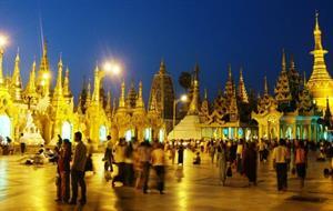 Komfortně: Zlatá krása Myanmaru