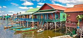 Kulturní Thajsko a Kambodža s pobytem na ostrově Koh Chang