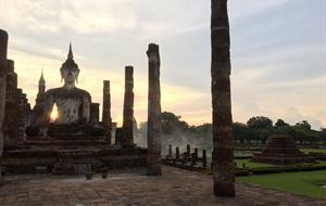 Starobylá města Sukhothai, Ayutthaya a Angkor