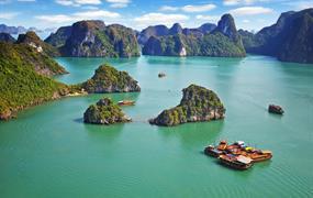Přírodní krásy severního Vietnamu