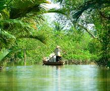 Malý okruh jižním Vietnamem s mezinárodní skupinkou