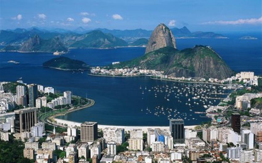Hotel Bandeirantes 3, Rio de Janeiro - letecky