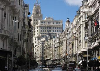 Hotel Puerta de Toledo 3, Madrid - letecky