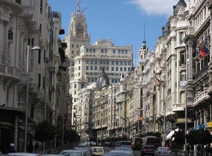 Hotel Hesperia 5, Madrid - letecky