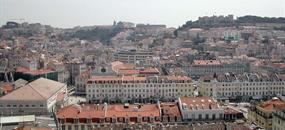 Hotel Principe Real 4, Lisabon - letecky