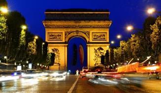 Hotel Royal Elysees 4, Paříž - letecky