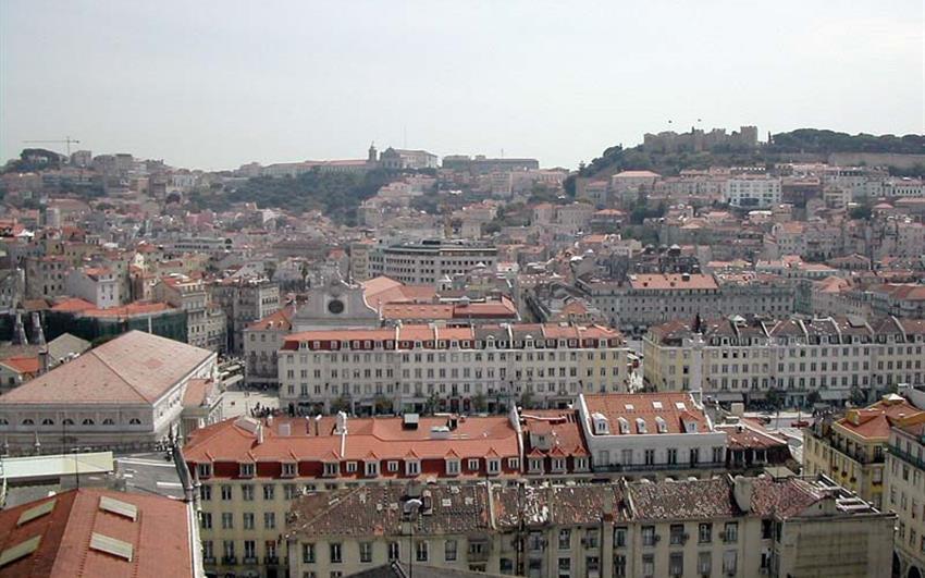 Hotel The Vintage Lisboa 5, Lisabon - letecky