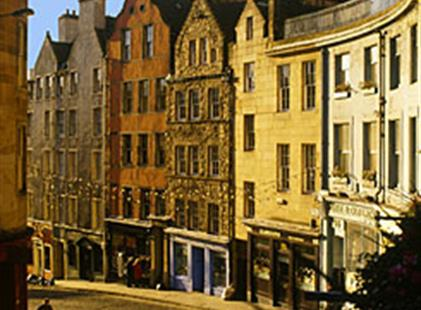 Edinburgh - Easy Fly (letecky)
