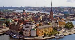 Stockholm - easy fly, letecký eurovíkend