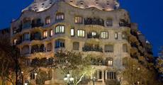 Hotel Ronda Lesseps 4, Barcelona - letecky