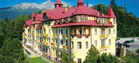 Víkend v Tatrách - vlakem, Grand Hotel Praha