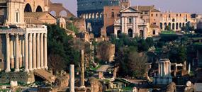Hotel Pyramid 2, Řím - letecky