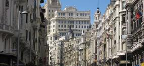 Madrid - Toledo, letecky