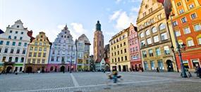 Wroclaw a zámek Książ