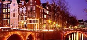 Holandsko - Květinové korzo a Amsterdam