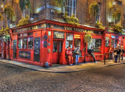 Hotel Pembroke Townhouse 4, Dublin - letecky