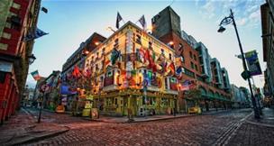 Hotel Russel Court 3, Dublin - letecky
