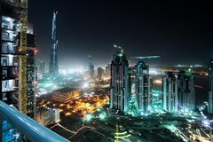 Hotel Al Khoory Executive 3, Dubaj - letecky