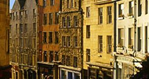 Hotel Britannia 3, Edinburgh - letecky