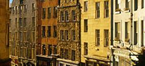 Hotel Holiday Inn 4, Edinburgh - letecky