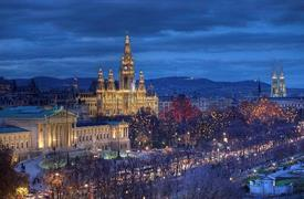 Adventní Vídeň a nákupy vnákupním centru s Primarkem