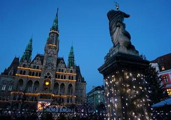 Adventní Sychrov a Liberec