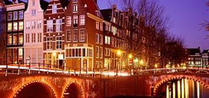 Amsterdam, letecky