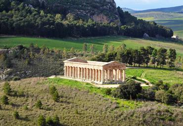 Sicílie - letecky