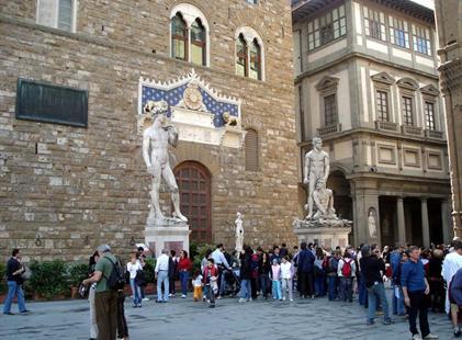 Hotel Rex 3, Florencie - letecky
