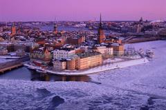 Hotel Scandic Sjöfartshotellet 4, Stockholm - letecky